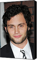 Alice Tully Hall At Lincoln Center Canvas Prints - Penn Badgley At Arrivals For Sherlock Canvas Print by Everett