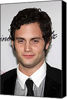 Cipriani Restaurant Wall Street Canvas Prints - Penn Badgley At Arrivals For The 2009 Canvas Print by Everett