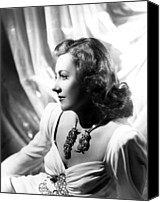 Publicity Shot Canvas Prints - Penny Serenade, Irene Dunne, 1941 Canvas Print by Everett
