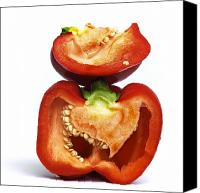Peppers Canvas Prints - Peppers Canvas Print by Bernard Jaubert