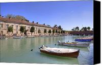 Verona Canvas Prints - Peschiera del Garda Canvas Print by Joana Kruse