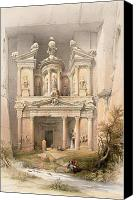 March Canvas Prints - Petra Canvas Print by David Roberts