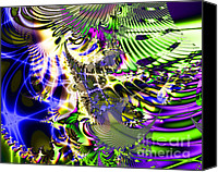 Julia Digital Art Canvas Prints - Phantasm Canvas Print by Wingsdomain Art and Photography