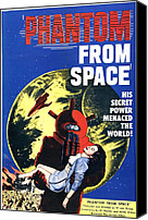 1953 Movies Canvas Prints - Phantom From Space, Noreen Nash, 1953 Canvas Print by Everett