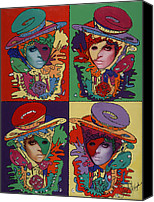 Bad Romance Canvas Prints - Phantom Gaga Canvas Print by Stapler-Kozek