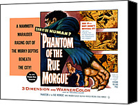 1950s Movies Canvas Prints - Phantom Of The Rue, Patricia Medina Canvas Print by Everett