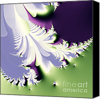 Julia Digital Art Canvas Prints - Phantom Canvas Print by Wingsdomain Art and Photography