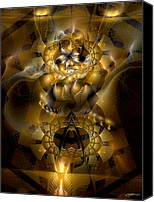 Delusion Canvas Prints - Pharaonic Delusions Canvas Print by Casey Kotas