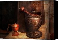 Suburbanscenes Canvas Prints - Pharmacy - Pestle - Luxury Tools  Canvas Print by Mike Savad