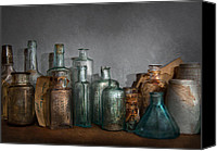 "\""painterly Photography\\\"" Photo Canvas Prints - Pharmacy - Doctor I need a refill  Canvas Print by Mike Savad"