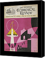 Ecumenical Canvas Prints - Phil Ecumenical Review 1965 b Canvas Print by Glenn Bautista
