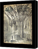 Ecumenical Canvas Prints - Phil Ecumenical Review 1965 Canvas Print by Glenn Bautista