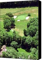 Phila Cricket Canvas Prints - Philadelphia Cricket Club St Martins Golf Course 5th Hole 415 W Willow Grove Ave Phila PA 19118 Canvas Print by Duncan Pearson