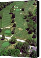 Phila Cricket Canvas Prints - Philadelphia Cricket Club St Martins Golf Course 7th Hole 415 W Willow Grove Ave Phila PA 19118 Canvas Print by Duncan Pearson