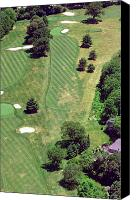Phila Cricket Canvas Prints - Philadelphia Cricket Club St Martins Golf Course 8th Hole 415 W Willow Grove Ave Phila PA 19118 Canvas Print by Duncan Pearson