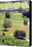 Phila Cricket Canvas Prints - Philadelphia Cricket Club St Martins Golf Course 9th Hole 415 W Willow Grove Ave Phila PA 19118 Canvas Print by Duncan Pearson