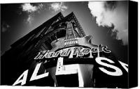 All Star Digital Art Canvas Prints - Philadelphia Hard Rock Cafe  Canvas Print by Bill Cannon