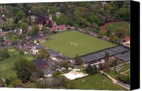 Aerial Canvas Prints - Philadelphia International Cricket Festival Canvas Print by Duncan Pearson