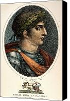 4th Canvas Prints - Philip Ii Of Macedon Canvas Print by Granger