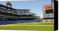 Philadelphia Phillies Stadium Photo Canvas Prints - Phillies Stadium Canvas Print by Brynn Ditsche