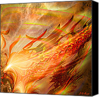 Mathematical Canvas Prints - Phoenix Canvas Print by Michael Durst
