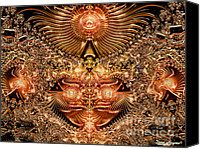 Dana Haynes Canvas Prints - Phoenix Rising Canvas Print by Dana Haynes