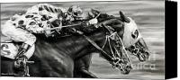 Pdjf Canvas Prints - Photo Finish Canvas Print by Thomas Allen Pauly
