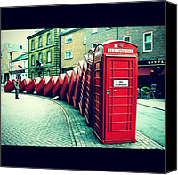 Featured Canvas Prints - #photooftheday #london #british Canvas Print by Ozan Goren