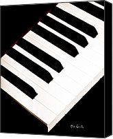 Musical Notes Canvas Prints - Piano Canvas Print by Bob Orsillo