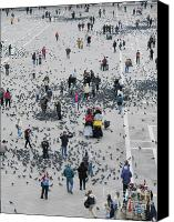 Italia Canvas Prints - Piazza San Marco Canvas Print by Bernard Jaubert