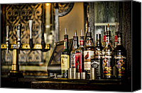 Bars Canvas Prints - Pick Your Poison Canvas Print by Heather Applegate