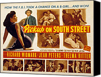 Fid Photo Canvas Prints - Pickup On South Street, Jean Peters Canvas Print by Everett
