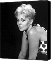 1955 Movies Canvas Prints - Picnic, Kim Novak, 1955 Canvas Print by Everett