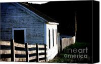 Ranches Canvas Prints - Pierce Point Ranch 5 Canvas Print by Wingsdomain Art and Photography