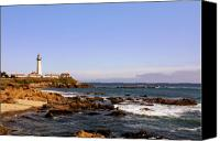 Guidance Canvas Prints - Pigeon Point Lighthouse CA Canvas Print by Christine Till