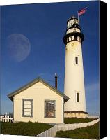 July Canvas Prints - Pigeon Point Lighthouse Canvas Print by Wingsdomain Art and Photography