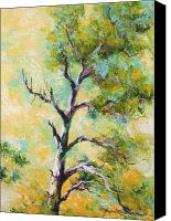Marion Rose Canvas Prints - Pine Abstract Canvas Print by Marion Rose