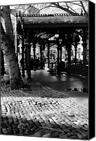Pioneer Square Canvas Prints - Pioneer Square Pergola II Canvas Print by David Patterson