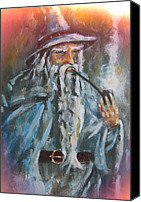 Moria Canvas Prints - Pipe weed Canvas Print by Joe Gilronan