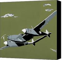 Airplane Canvas Prints - Plane Jane 2 Canvas Print by Slade Roberts