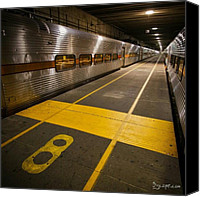 Instagram Canvas Prints - Platform 8 Canvas Print by Adam Romanowicz