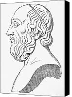 4th Canvas Prints - PLATO (c427 B.C.-c347 B.C.) Canvas Print by Granger