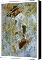 Field Sports Canvas Prints - Play Ball Canvas Print by James Robinson