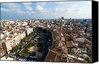 Overlook Canvas Prints - Plaza de la Reina Canvas Print by Fabrizio Troiani