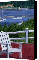 Cape Cod Canvas Prints - Pleasant Bay Cape Cod Canvas Print by Dominic White
