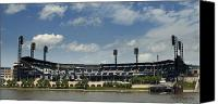Pittsburgh Pirates Canvas Prints - PNC Park Canvas Print by Dirk VandenBerg