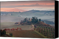 Tuscany Canvas Prints - Podere Belvedere Canvas Print by Photographer  Renzi Tommaso  tommyre00@hotmail.it
