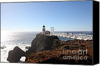 Headlands Canvas Prints - Point Bonita Lighthouse in The Marin Headlands - 5D19700 Canvas Print by Wingsdomain Art and Photography