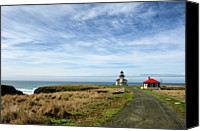 Road Travel Canvas Prints - Point Cabrillo Canvas Print by Mark Zukowski