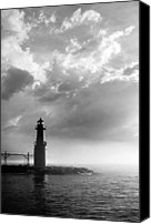 Grey Clouds Canvas Prints - Point of Inspiration Canvas Print by Bill Pevlor